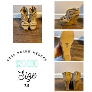 Soda brand wedges